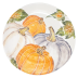 Pumpkins Large Serving Bowl W/ Assorted Pumpkins - 15.25 in. d, 2.75 in. h | Gracious Style