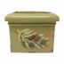 Rustic Garden Olives Green Square Planter - 10.25 in. sq, 8 in. h   Gracious Style