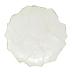 Foglia Stone White Cheese/tart Plate - 13 in. d | Gracious Style