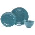 Fresh Teal 3-piece Place Setting - 6 in. -10.75 in. d | Gracious Style