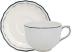 """Filet Acapulco Jumbo Cup & Saucer 11 Oz - 7 1/2"""" Dia   Gracious Style"""