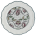 "Dominote Dessert Plate Roses 9"" Dia 