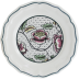 """Dominote Canape Plate Roses 8 2/3"""" Dia 
