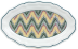 "Dominote Oval Platter 16"" X 10 1/3"" 